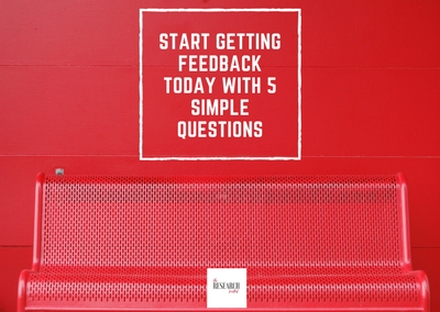 Start getting customer feedback today