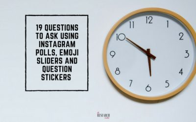 19 questions to ask using Instagram polls, emoji sliders and question stickers